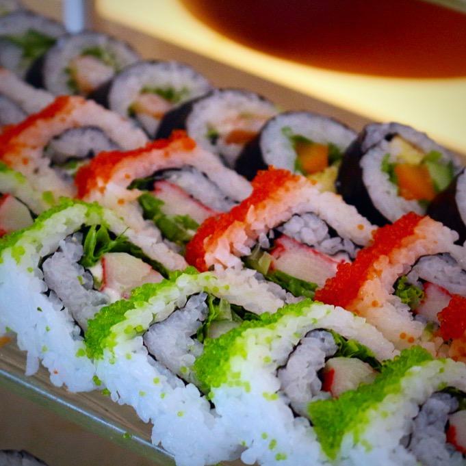 Sushi on the cruise