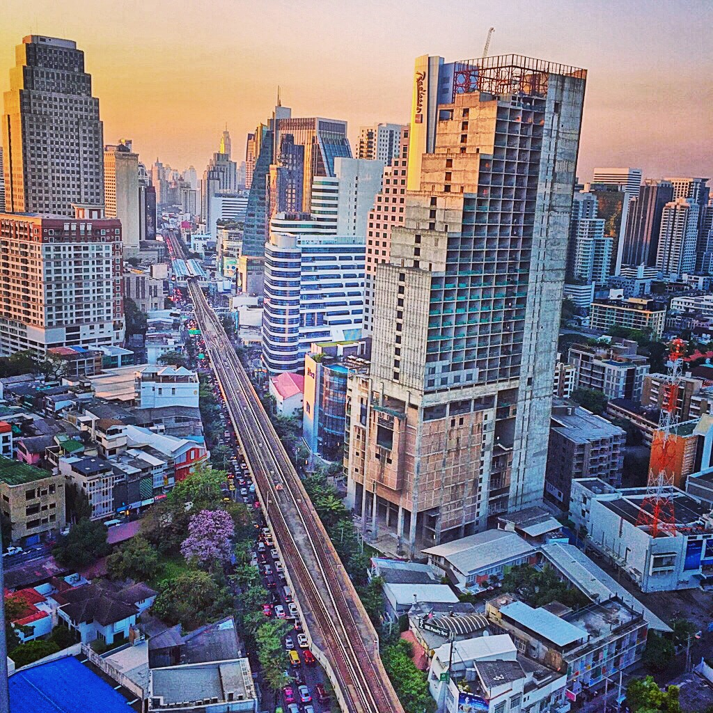 View from Bangkok Maya restaurant