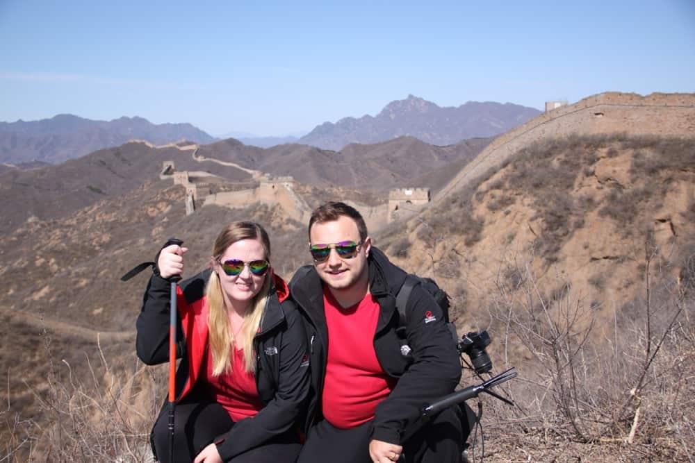 Trek Wall at Jinshanling