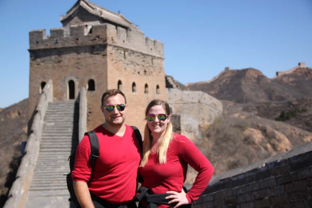 Trekking at the Great Wall of China