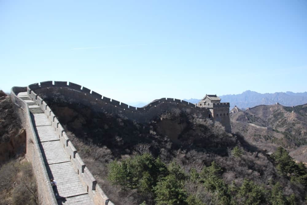 The Great Wall Chinese border