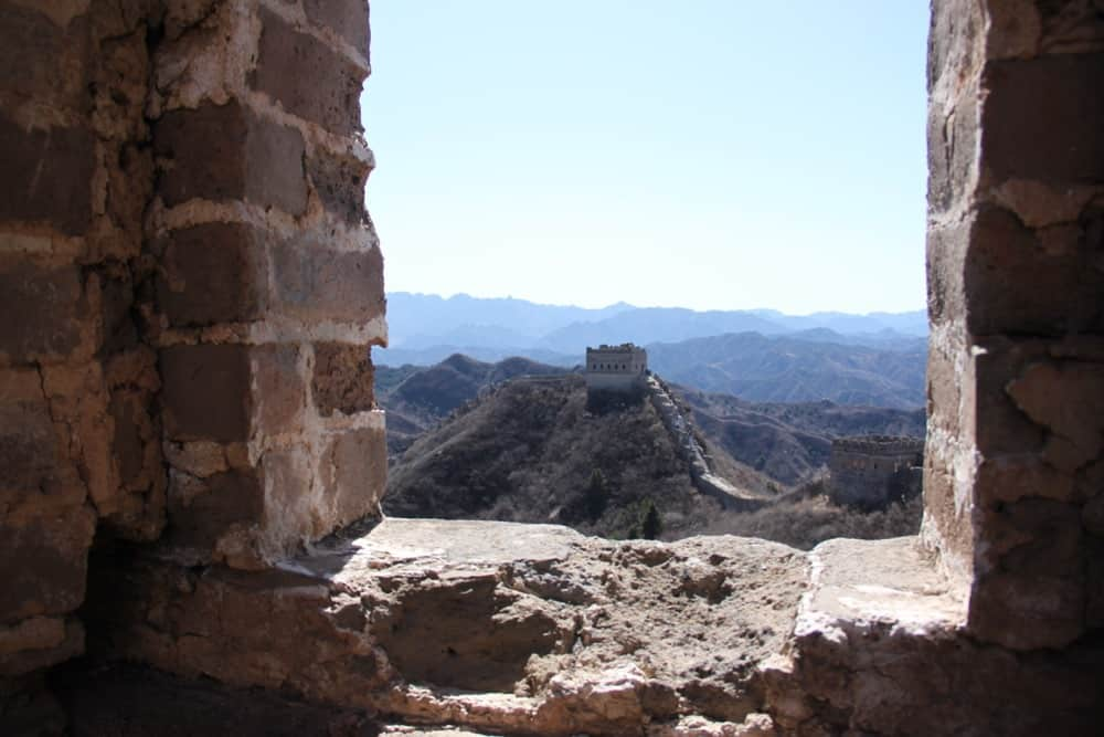 Chinese Great Wall trekking