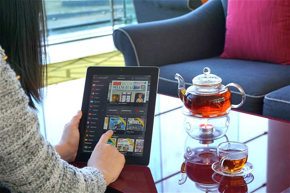 Club lounge Hotel Jen Beijing
