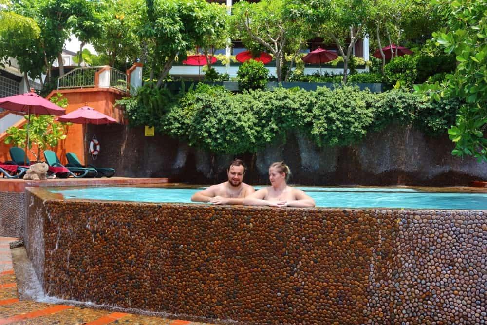 Freshwater swimming pool Villa Royale Phuket