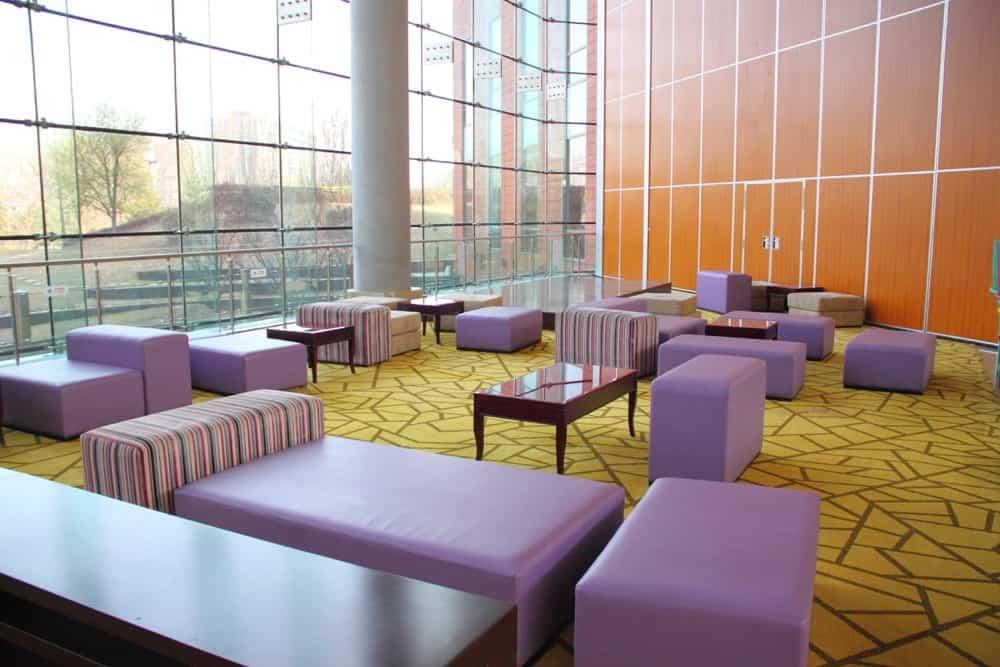 Hotel Jen Upper East Beijing lobby