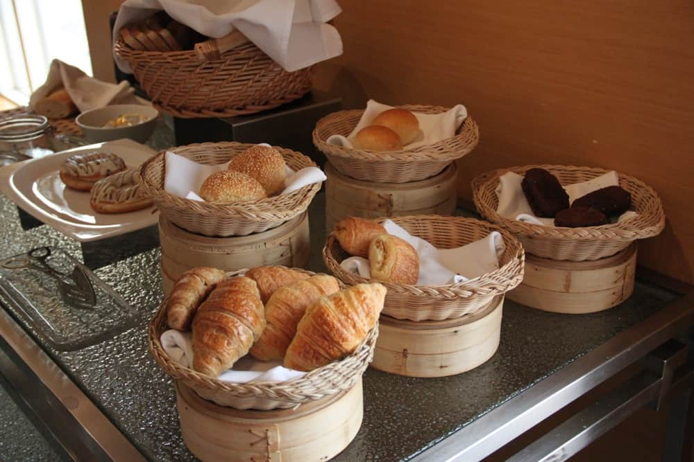 Delicious breakfast at Hotel Jen Upper East Beijing