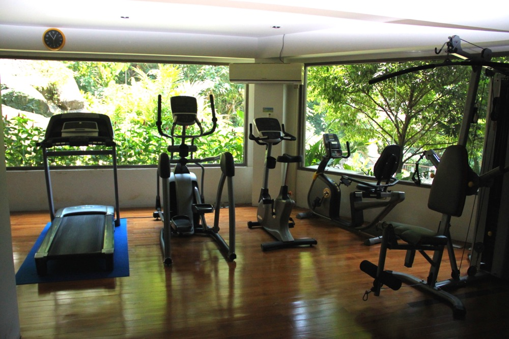 Gym at Mandarava Resort and spa