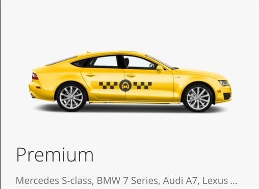 Belgium taxi