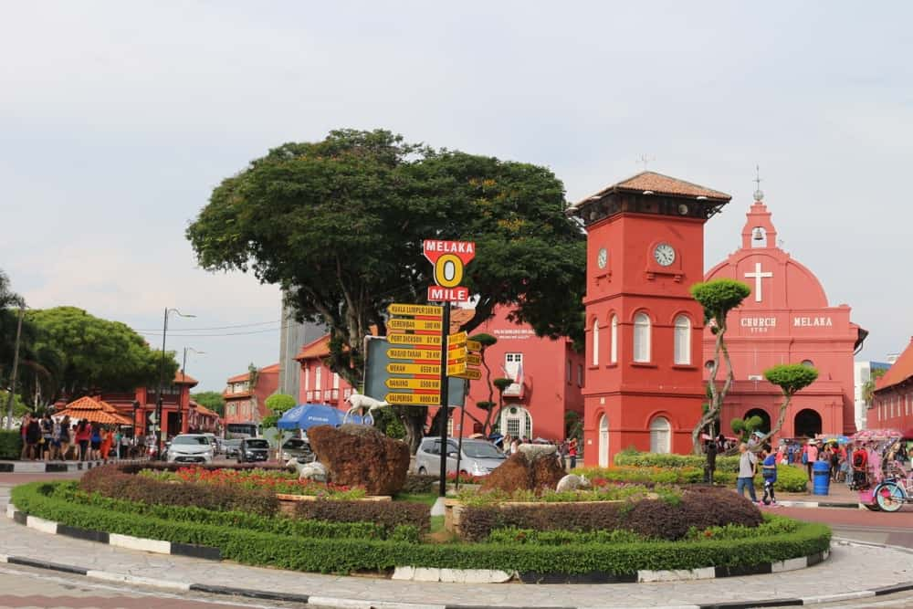 Dutch Square (Red Square) in Malacca