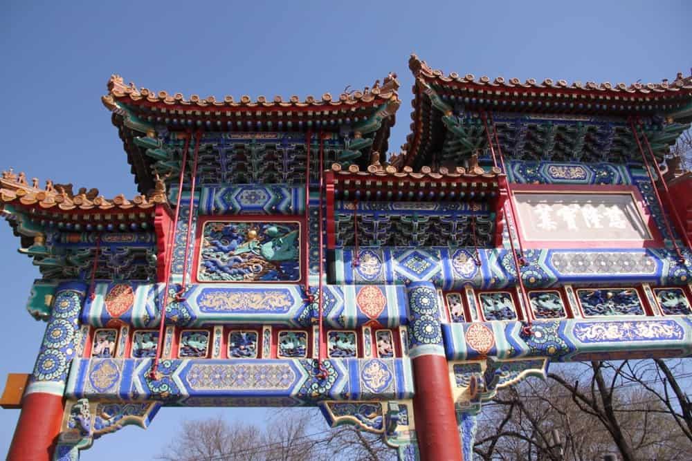 China town in California