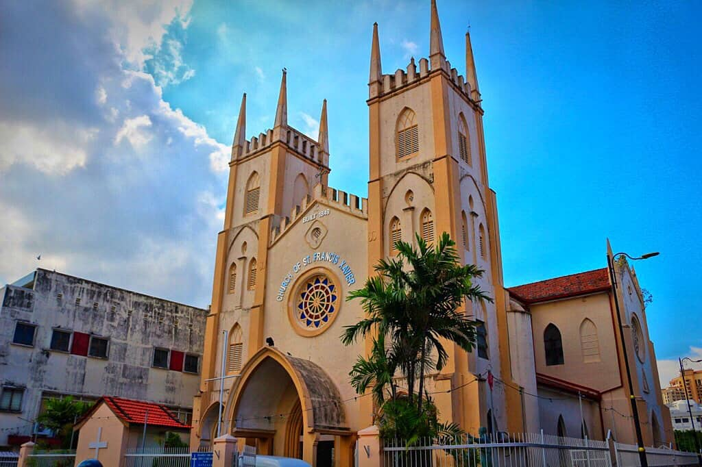 St. Francis Xavier Church in Melacca