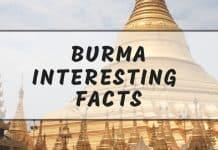 Interesting Myanmar facts