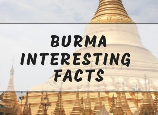 Interesting Myanmar facts