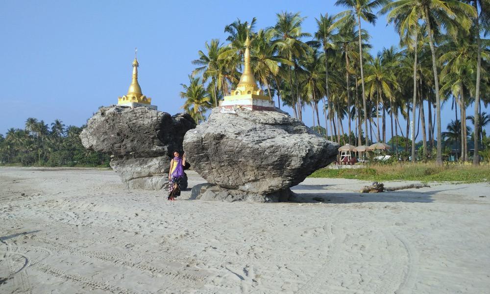 Ngwe Saung Pagodas