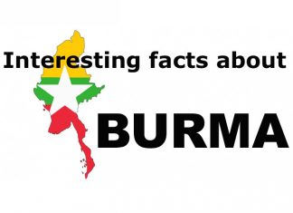 Interesting facts about Myanmar