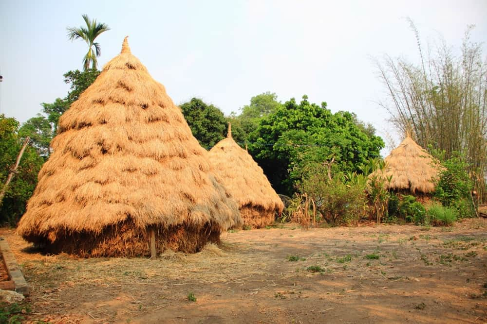 Hay cottages in Pai
