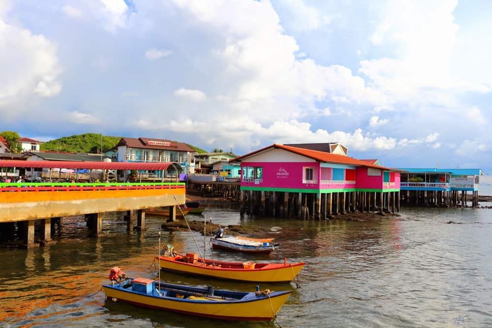 Pier at Koh Larn island