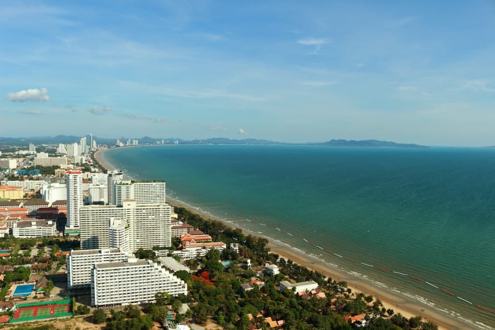 Coastline in Pattaya