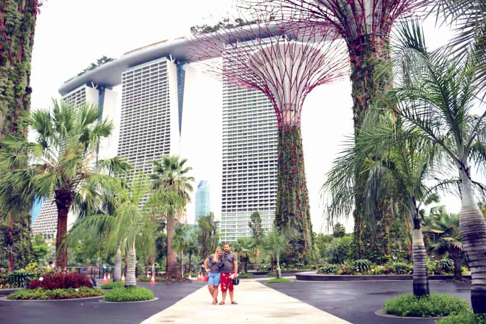 Karolina and Patryk in Singapore