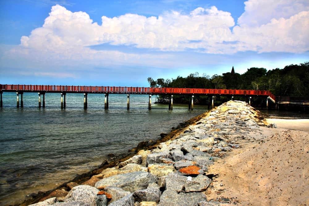 Beach in Port Dickson