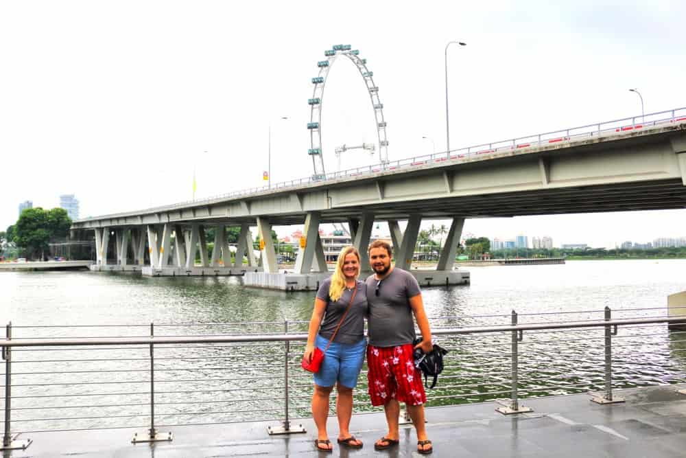 Sightseeing in Singapore