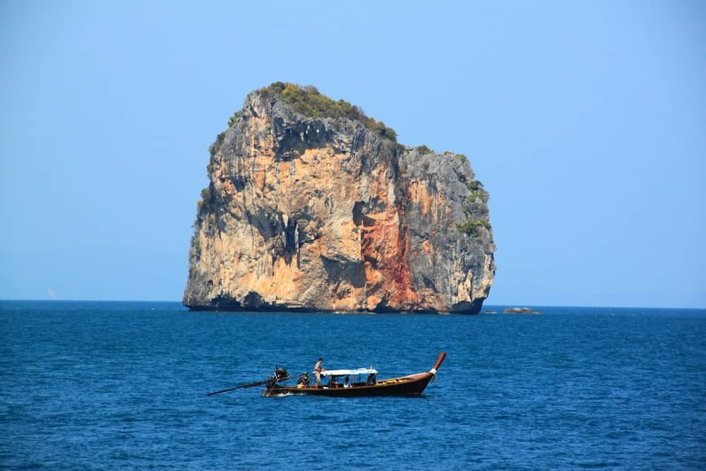 Limestone cliff in Krabi