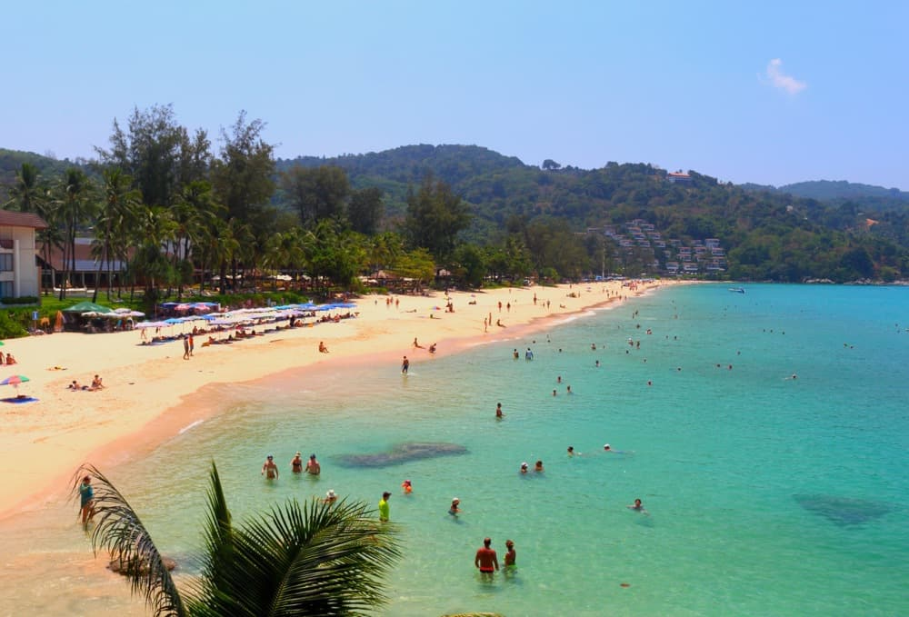 Heavenly beach in Phuket