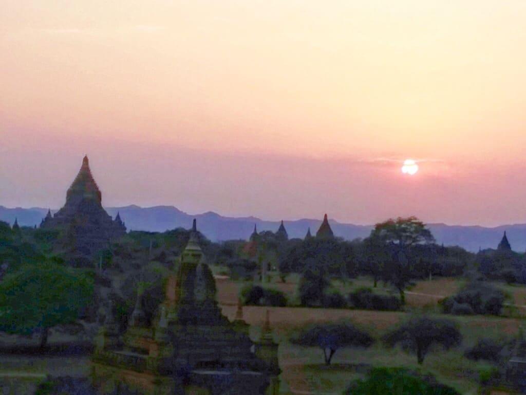 Old temple in Bagan everywherewithferna.com