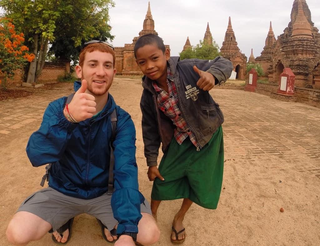 Nyaung U Market Bagan by Drew