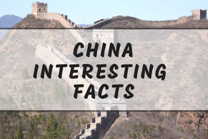 Intersting China facts