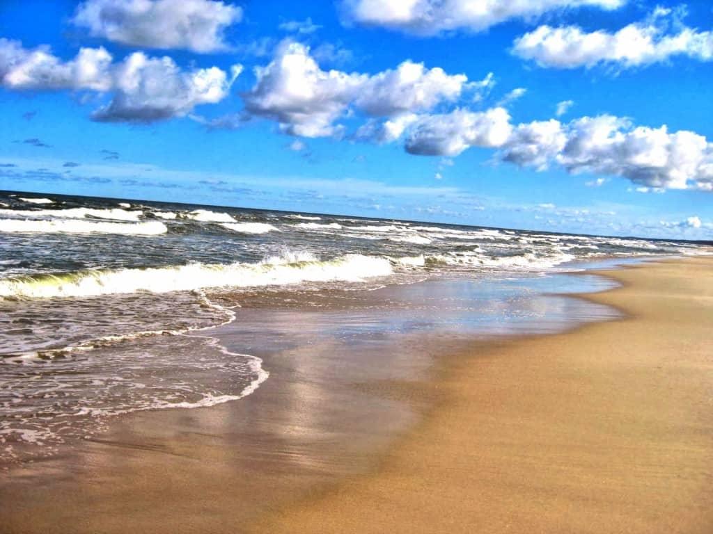 Baltic sea travel Poland