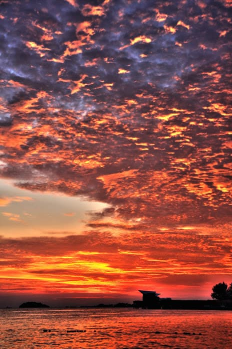 Sunset in Port Dickson