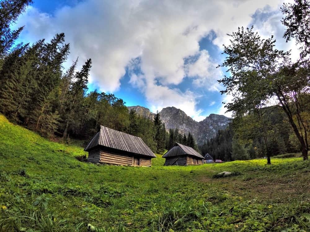 Beautiful mountains in Zakopane Poland