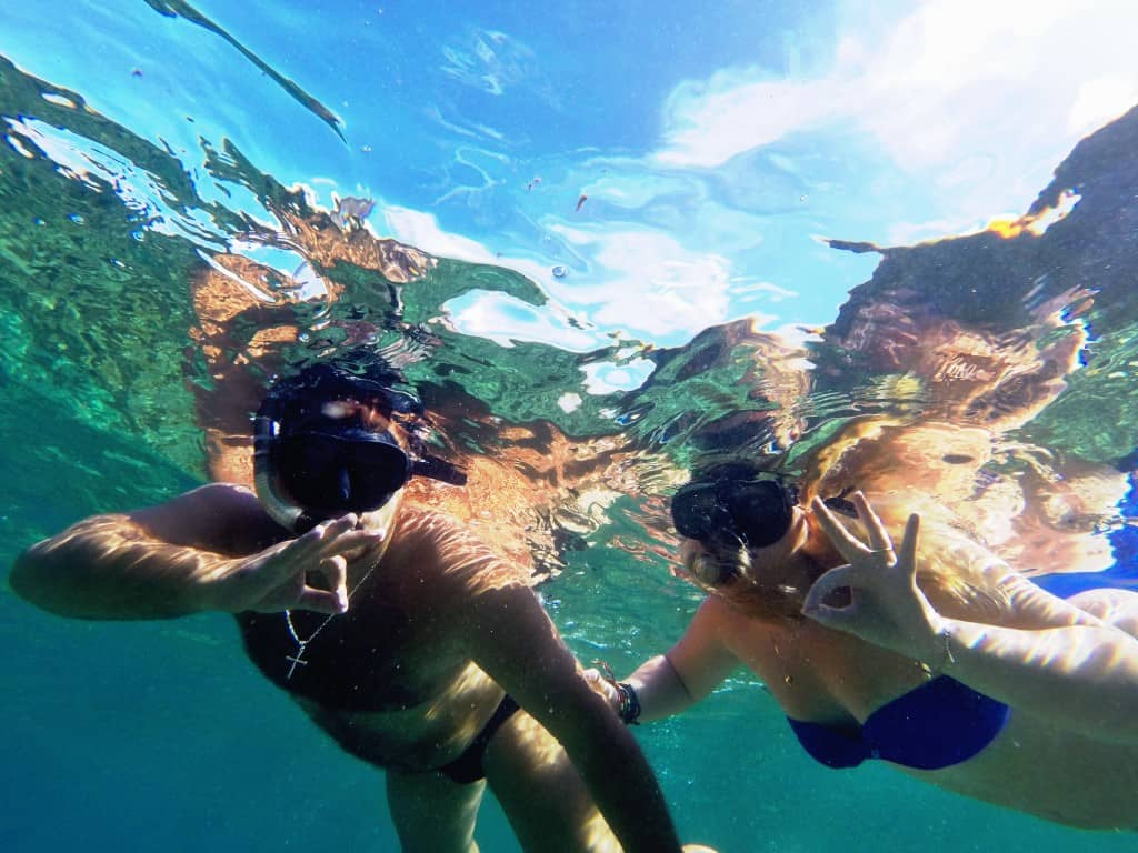 Snorkeling in Philippines