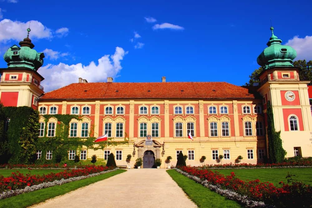 Castle in Lancut travel to Poland