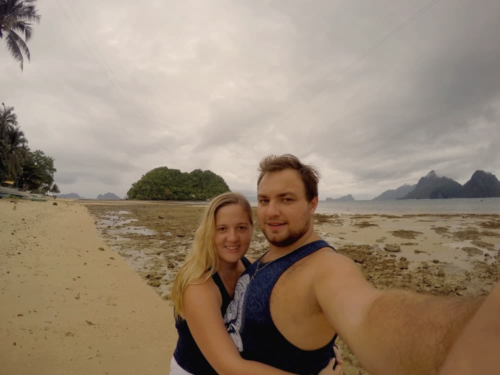 Karolina and Patryk in Philippines