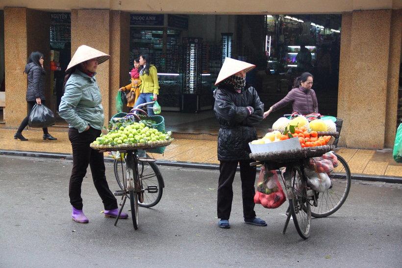 Local market in Vietnam