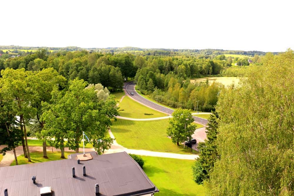 The view from GMP Clubhotel Best hotel Estonia