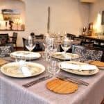 Interiors of CRU Restaurant