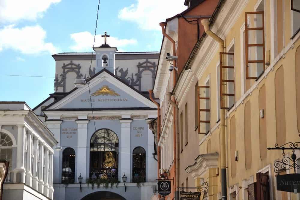 Gates of Dawn in Vilnius