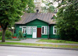 Green house in Druskininkai