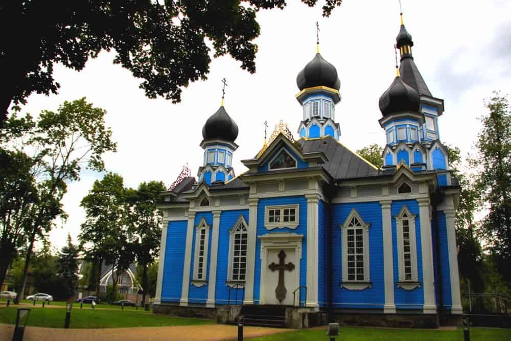 Joy of all who sorrow church Druskininkai