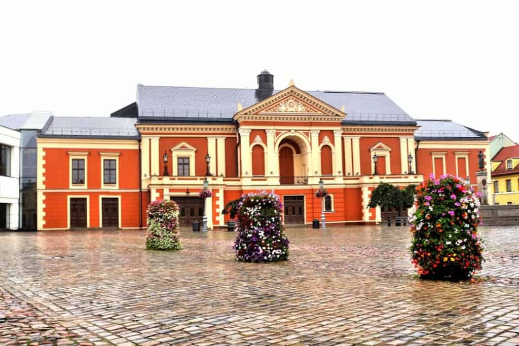 Klaipeda Theatre Square is one of the things to do in Klaipeda