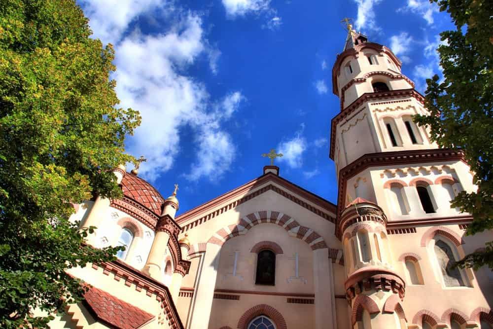 Orthodox church of St Nicolas in Vilnius