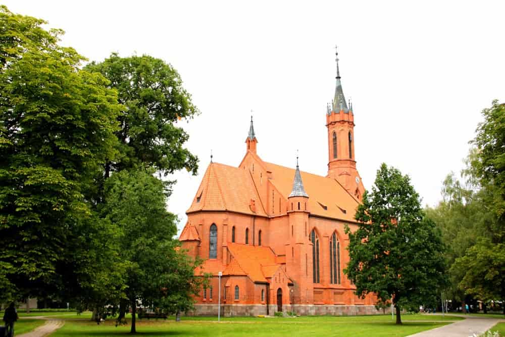 St Mary church Druskininkai