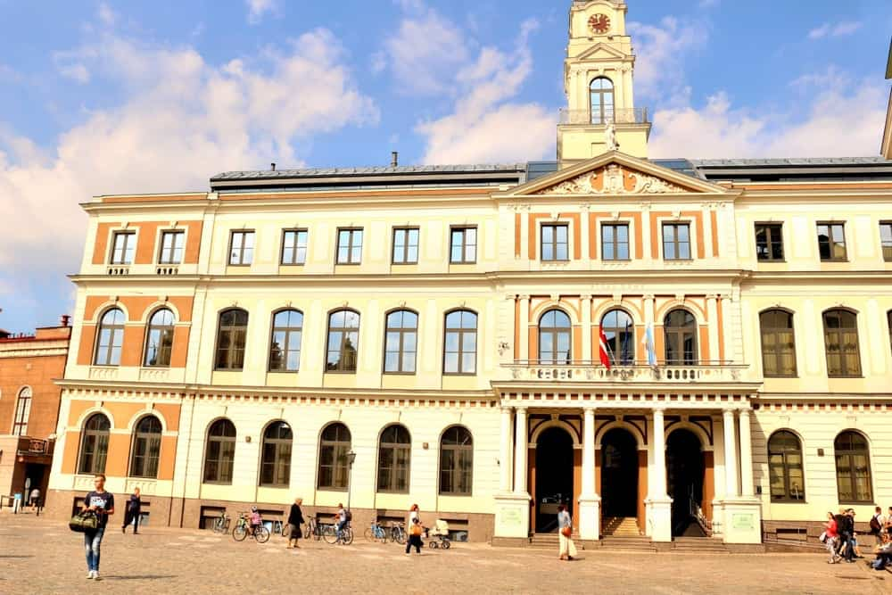 Town Hall in Riga