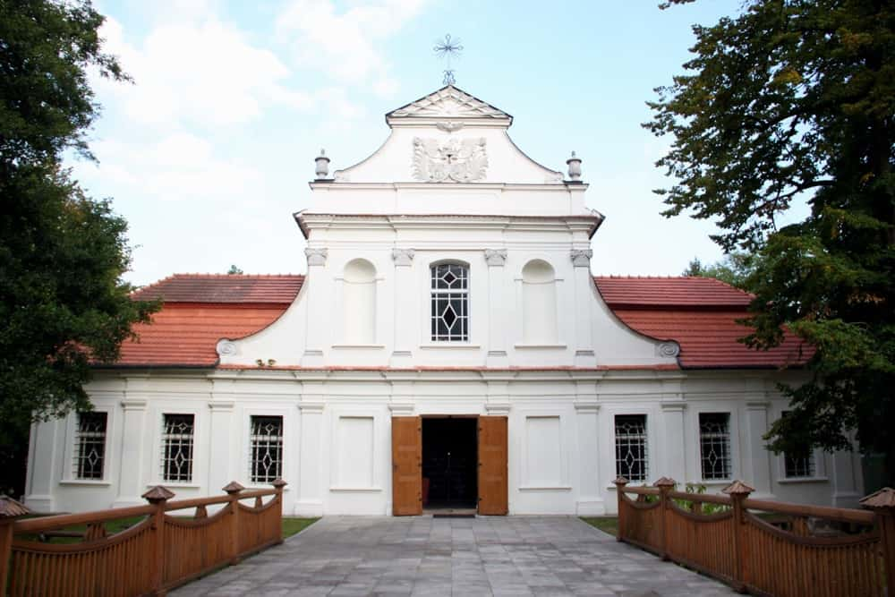 Church on Isle Zamosc