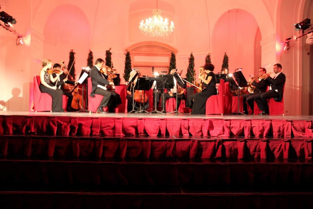 Classical music concert at the Schonbrunn Palance