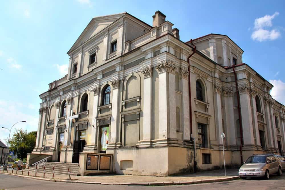 Franciskan church in Zamosc