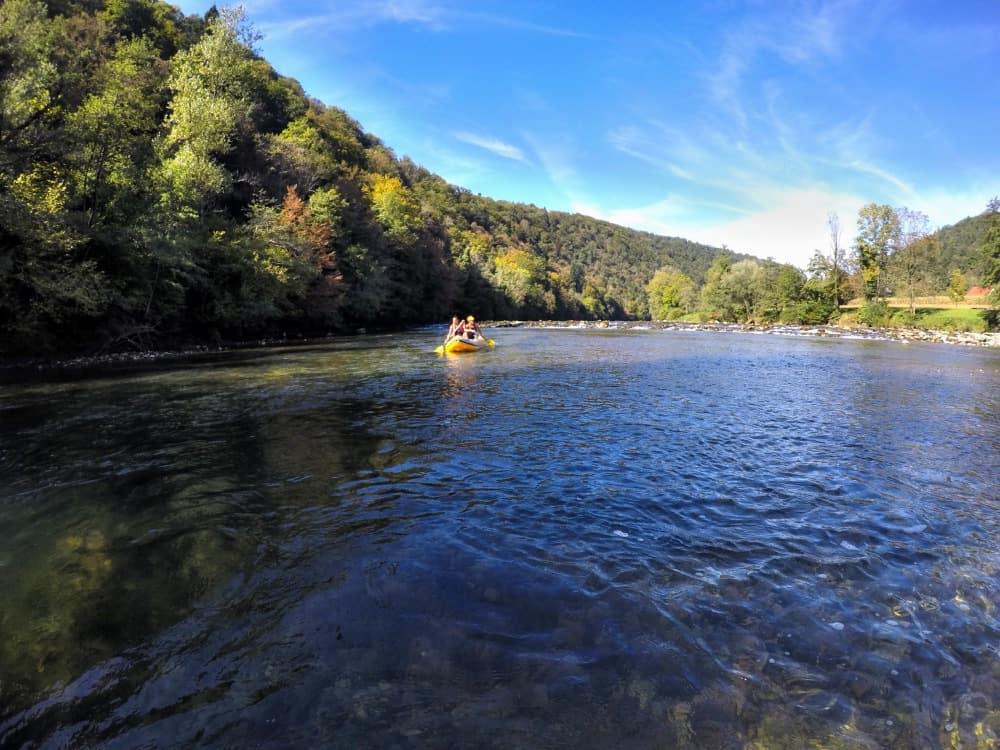 Kola river Slovenia